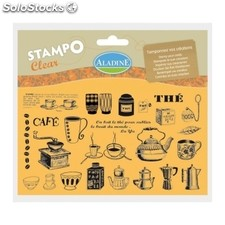 Sellos StampoClear Café