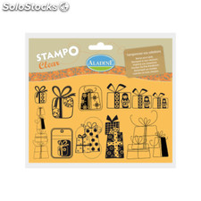 Sellos StampoClear Regalos