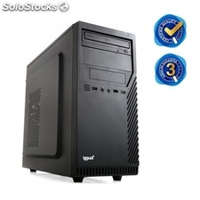 Semi Torre iggual PSIPCH111 Intel Core i5-4460 4GB 1TB Windows 10 negro