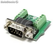 Serial Adapter DB9 male to terminal block (TI97)