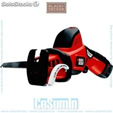 Serrucho 10.8V 1.3Ah Litio. - Black and Decker - Ref: GKC108-qw