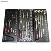 Servante d'atelier 151 outils Chrome Vanadium - Photo 2