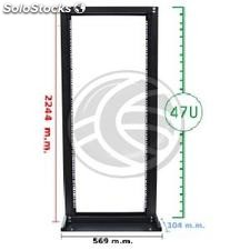 Server open rack 19 inch 47U 569x104x2244mm OpenRack by RackMatic (WK56)