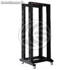 Server open rack cabinet 19 inch 29U 600x1000x1400mm Open2 MobiRack by RackMatic