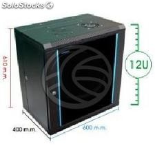 Server rack cabinet 19 inch 12U 620x400x655mm swivel wallmount SOHORack by