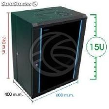 Server rack cabinet 19 inch 15U 620x400x790mm swivel wallmount SOHORack by