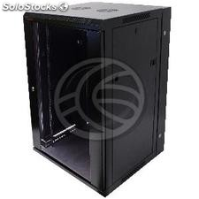 Server rack cabinet 19 inch 18U 600x600x900mm swivel wallmount SOHORack by