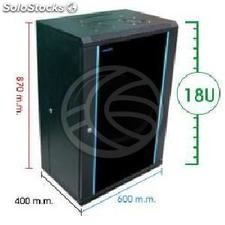 Server rack cabinet 19 inch 18U 620x400x920mm swivel wallmount SOHORack by