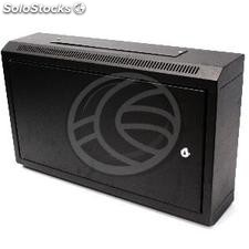 Server rack cabinet 19 inch 6U 600x150x370mm wallmount with metal door SOHORack