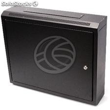 Server rack cabinet 19 inch 9U 600x150x505mm wallmount with metal door SOHORack