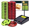 Service coaster pager , fast food restaurant take food pager, file attente