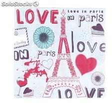 "Servilletas ""love in paris"""