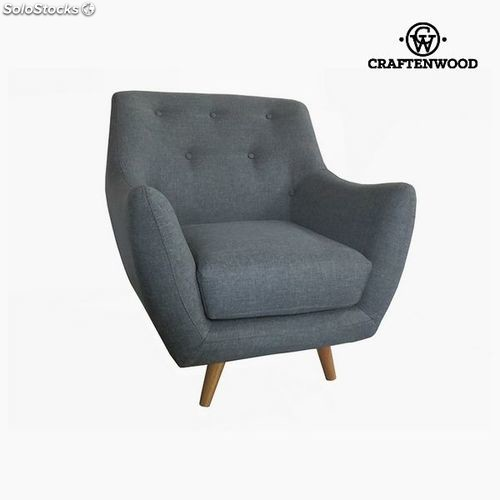 Sessel Polyester Grau 80 X 78 X 83 Cm By Craftenwood
