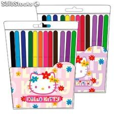 Set 12 Rotuladores Hello Kitty (Surtido)