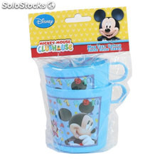 Set 2 jarritas plástico mickey - disney - mickey - 8433774627722 - BY08019962772