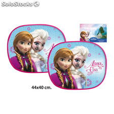 Set 2 parasoles coche frozen anna & elsa - idealcasa kids - frozen -