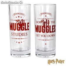 Set 2 vasos Harry Potter