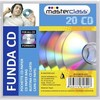 Set 20 fundas CD papel PGT01-40267