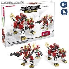 Set 291 bloques robot-dragon 2 en 1