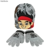 Set 2pcs Jake el Pirata (Gorro y Guantes)