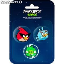 Set 3 borradores Angry Birds Space