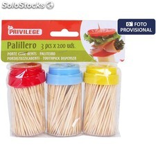Set 3 palilleros 3X200UDS privilege - privilege - 8433774637868 - BY01080163786