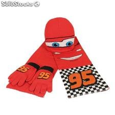 Set 3pcs Disney Cars (Gorro, Guantes y Bufanda)