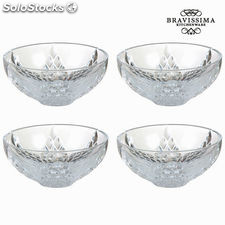 Set 4 boles mirage - Colección Pure Crystal Kitchen by Bravissima Kitchen