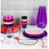Set 4 cuencos cristal rosas - Colección Crystal Colours Kitchen by - Foto 2