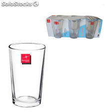 Set 6 vasos 180cc caña lisa