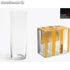 Set 6 vasos tubo 32CL leerdam - royal leerdam - 8435133852721 - 761804056