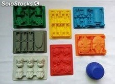 Set 8 moldes silicon Star Wars Hielo Chocolate Gomitas