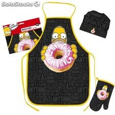 Set Barbecue Homer Simpson