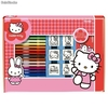 Set Colorear Hello Kitty (7 sellos + 12 Rotuladores)