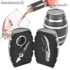 Set da Vino Summum Sommelier Barrel (3 pezzi)