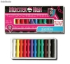 Set de 12 plastilina Monster High