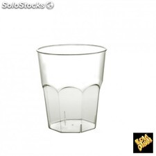 Set de 20 vaso cocktail 270 cc ps trans 21u/c