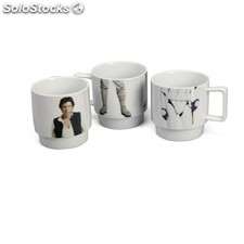 Set de 3 tazas apilables Star Wars Luke Skywalker Han Solo, Stormtrooper