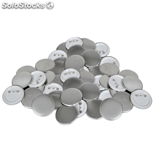 Set de 500 pins botones de 25 mm
