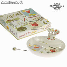 Set de aperitivo aperitif - Colección Kitchen's Deco by Bravissima Kitchen