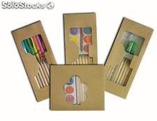 set de arte lapices de colores,crayon,