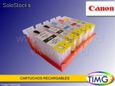Set de Cartuchos Recargables Alternativos Canon ip4700