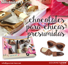 Set de chocolates para CHICAS 100 gr.