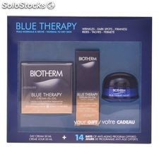 Set de cosmética mujer blue therapy cream in oil biotherm (3 pcs)