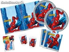 Set de fiesta Spiderman+ globos de regalo