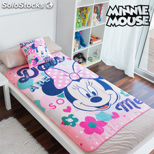 Set de Manta y Cojín Minnie