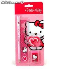 Set de Papeleria Hello Kitty