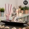 Set Decorativo Buda con Vela e Incienso Oh My Home (9 piezas)