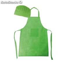 Set Delantal y Gorro Cook Verde