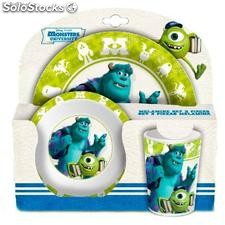 Set Desayuno Melamina Monsters University